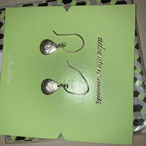 Stella & Dot Silver Dangle Earrings